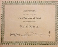 reiki master certification